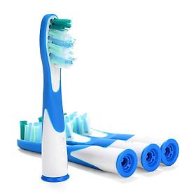 Bộ 4 Đầu Bàn Chải Đánh Răng điện SR12A.18A cho các dòng máy Braun Oral B Sonic, Sonic Complete và Sonic Vitaliy
