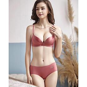 Áo ngực, áo lót nữ su phối lụa không gọng đệm dày nâng ngực, xinh đẹp quyễn rũ
