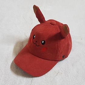 nón mùa hè,mũ lưỡi trai Pykachu cho bé 2 đến 6 tuổi cưng xỉu -B