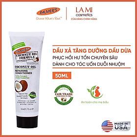 (Mini Size) Dầu xả dưỡng tóc phục hồi hư tổn dầu dừa Palmer's 50ml