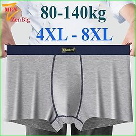 Quần lót nam Big size DÁNG SỊP ĐÙI cotton co giãn 4 chiều 80-130kg
