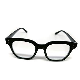 Mắt kính thời trang chống bụi chữ V gọng nhựa vuông tròn K010 unisex nam nữ style giả cận, phong cách tri thức, lịch sự