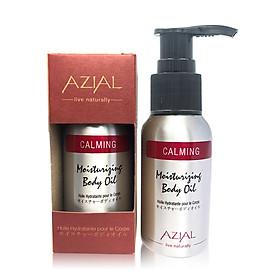 Tinh dầu massage body AZIAL Calming Moisturizing Body Oil, dưỡng ẩm, làm dịu, chống oxi hóa, thư giãn tinh thần, cho giấc ngủ sâu