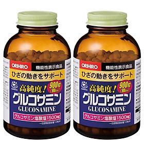 Combo 2 hộp Thực phẩm bảo vệ sức khỏe bổ xương khớp Orihiro Glucosamine 1500mg hộp 900 viên