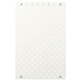 IKEA SKÅDIS Pegboard, white, 36x56 cm
