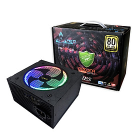 Nguồn VSP Công Suất Thực 500W Led RGB Full Box - Kèm Dây Nguồn - Hàng chính hãng