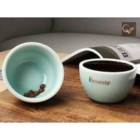 Chén cupping  chuyên dụng bằng sứ thử cafe Artisan 230ml Professional Cupping Bowl + silicon lid - Chính hãng Brewista