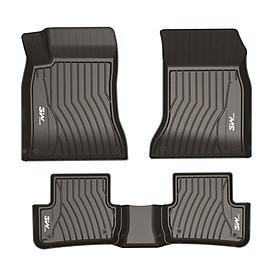 Thảm lót sàn xe ô tô dành cho Mercedes ML 2012-2015 chất liệu nhựa TPE đúc khuôn cao cấp - màu đen
