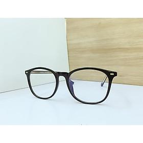 Gọng kính cận nhựa Tr90 cao cấp, kiểu dáng Hàn Quốc hiện đại, mắt chống ánh sáng xanh Tr30036