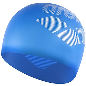 Ariana arena swimming cap original imported silicone waterproof swimming cap men and women general long hair care ear high elastic comfort leisure training competition swimming cap ARN6400E-RBLU blue