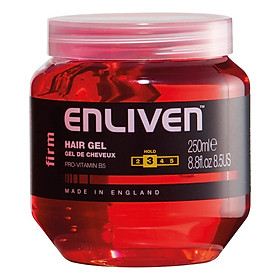 Gel Vuốt Tóc Giữ Nếp Vừa Enliven Hair Gel Firm Độ Cứng 3/5 250ml