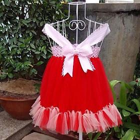 Đầm tutu thiên nga đỏ