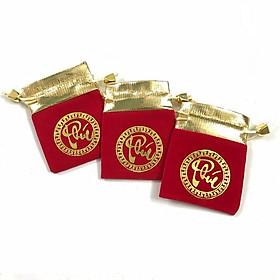 Combo 5 Túi gấm đỏ chữ Phúc may mắn và tài lộc, phong thủy sưu tầm - PCCB MINGT