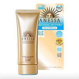 Gel Chống Nắng Dưỡng Ẩm Chuyên Sâu Bảo Vệ Hoàn Hảo Anessa Perfect UV Sunscreen Skincare Gel SPF50+ PA++++ 90g
