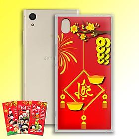 Ốp lưng dẻo cho điện thoại Sony Xperia XA1 Plus - 01156 7969 LOC02 - Tặng bao lì xì Chúc Mừng Năm Mới - Hàng Chính Hãng