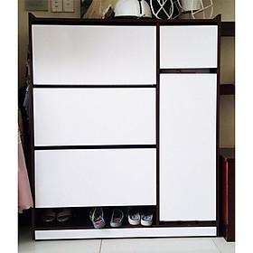 Tủ giày thông minh nhựa Đài Loan SHplastic 3 tầng