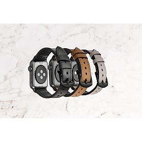 Dây đeo đồng hồ da chống thấm nước NETY dành cho Apple Watch Series1~5 38mm/40mm/42mm/44mm-Hàng chính hãng