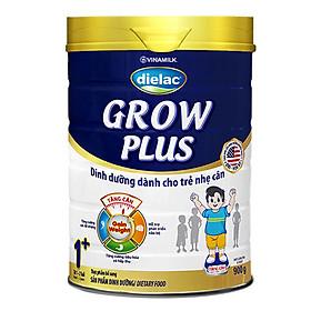 Sữa Bột Vinamilk Dielac Grow Plus 1+ - Xanh Hộp Thiếc 900g