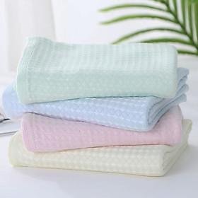 Set 4 khăn sữa sợi tre cao cấp cho bé, giao màu ngẫu nhiên (KS04)