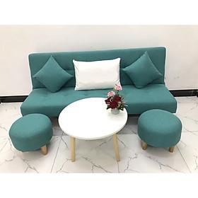Bộ ghế sofa giường 1m7x90 sofa bed phòng khách linco23 sofa nệm, sofa ghế băng