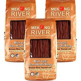 Combo 3 túi Bún Tươi Gạo Huyết Rồng MeKong River 300g
