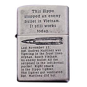 Bật Lửa Zippo 121fb Bullet In Vietnam