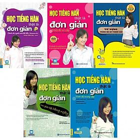 Sách - Combo Học Tiếng Hàn Thật Là Đơn Giản