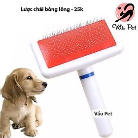 Lược chải lông cho chó mèo - Lược chải bông lông