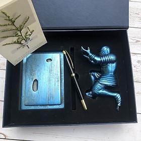 Bộ quà Tặng Bút Ký & Tượng Phong Thủy Tài Lộc Cao Cấp Dành Tặng Cho Sếp, Đối Tác, Khách Hàng