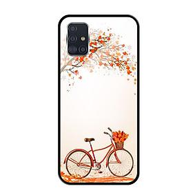 Ốp lưng Kính Cường Lực cho Samsung Galaxy A51 - 0389 BICYCLE04 - Hàng Chính Hãng