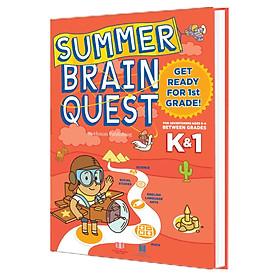 Sách Summer BrainQuest K1 - chuẩn bị vào lớp 1 ( dành cho học sinh từ 5 - 6 tuổi  )