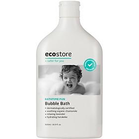 Sữa Tắm Bồn Tạo Bọt Gốc Thực Vật Ecostore Cho Bé 500ml