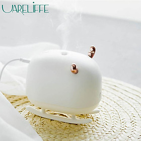 Uareliffe 260ML Deer Humidifier Light USB Ultrasonic Mini Portable Home Air Humidifier Air Nano Atomization Mist Maker Air Purifier With LED Nightlight For Home Office