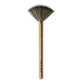 Cọ Quạt Lustre Pro Makeup Brush - Fan Brush - Gold Edition F104
