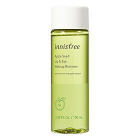 Dầu tẩy trang mắt và môi Innisfree Apple Seed Lip & Eye Makeup Remover 131172040 (100ml)