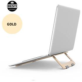 Giá Đỡ Dành Cho Laptop,  Macbook Để Bàn Chất Liệu Hợp Kim Nhôm Cao Cấp - Hàng Chính Hãng
