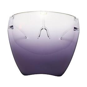 Full Face Shield Protective Clear Helmet Frame Visor Hat
