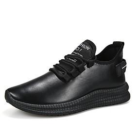 Giày thể thao nam giả da chất liệu cao cấp, phong cách cá tính