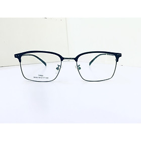 Gọng kính nhựa nửa gọng Hàn Quốc, kiểu dáng năng động, thời trang SK9939