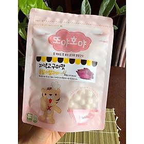 Bánh gạo ăn dặm organic Doya Hoya Hàn Quốc cho bé - Vị Khoai lang tím