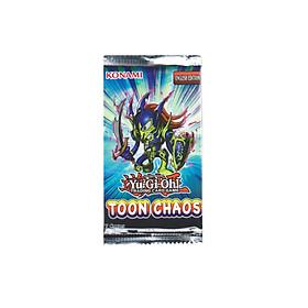 Gói Bài Tăng Cường YugiOh! Booster Pack: Toon Chaos (Unlimited Edition) - Chính Hãng Konami - Nhập Khẩu từ Anh