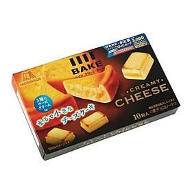 Bánh Morinaga BAKE Creamy Cheese vị Phomai nướng (38gr - 10 viên)