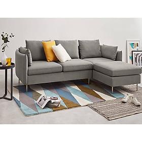Ghế Sofa Phòng Khách Vải Xám – Mã PK59