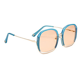 Fashion Oversized Sunglasses Sun Glasses Eyewear Cool Light Blue