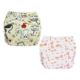 Tã vải BabyCute ban Đêm Siêu chống tràn - Mua 2 bộ tã size L (14-24kg) - Tặng 1 bỉm Cotton size 3 (15-20kg) - Giao mẫu ngẫu nhiên-3