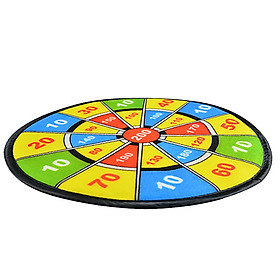ENPEX sticky ball dart board parent-child baby sports toys boys and girls flannel sucker dart target 2 set-4
