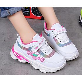 Giày thể thao bé gái phong cách học sinh từ 4 - 15 tuổi - TT010