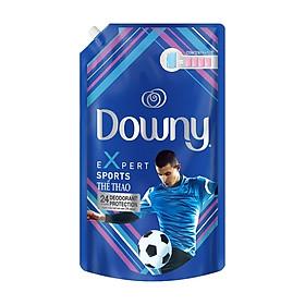 Combo 3 nước xả vải Downy Expert thể thao 1.5L/Túi - Tặng Nước Xả Vải Downy Huyền Bí 560ML - Ngăn mùi hôi, giữ quần áo thơm mát suốt cả ngày