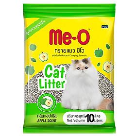 Cát Vệ Sinh Cho Mèo Me-O Hương Táo (10L)