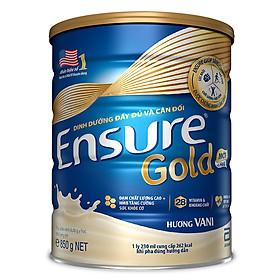 2 Hộp Sữa Bột Abbott Ensure Gold ESLA Dinh Dưỡng Đầy Đủ Và Cân Đối (850g)